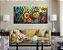 Quadro Decorativo Pintura em tela Abstrato Moderno Colorido - Imagem 2