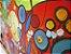 Quadro Decorativo Pintura em tela Abstrato Moderno Colorido - Imagem 3