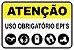 Placas para Segurança do Trabalho - EPI - Imagem 1