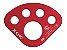 Placa de ancoragem alumínio 45kn 5 furos NFPA  - Imagem 1