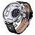 Relógio Masculino Weide Analógico WH-3409 Prata e Branco - Imagem 2