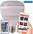 LAMPADA LED MUSICAL BLUETOOTH RGB 12W BIVOLT - Imagem 1