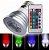 LAMPADA LED DICROICA RGB E-27 5W BIVOLT - Imagem 1