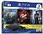Playstation 4 Slim 1TB + Jogo God of War 4 + Gran Turismo + Uncharted 4 - Imagem 1