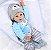 NPK DOLL 22 bebê Reborn Silicone Handmade lifelike baby Dolls Realistic Newborn Produto Importado Compra Segura Em Nosso Site. Entrega de 15 a 25 Dias. - Imagem 4