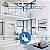 1080P WiFi Wireless / Wired IP Camera Home Security Surveillance Camera Pan & Tilt Night Vision Produto Importado Compra Segura Em Nosso Site  Prazo de Entrega de até 25 Dias Uteis Dependendo da sua localização. - Imagem 4