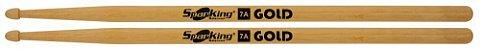 Baqueta Spanking 7A Linha Gold Balanced Mad. Natural Abil - Imagem 2