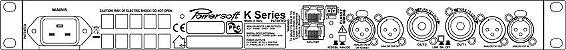 Amplificador Digital Powersoft K2 - 2400 Watts - Imagem 2