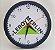 Kit C/ 10 Relógios de Parede + 100 Chaveiros - Personalizados com a MARCA de sua Empresa  - Imagem 3