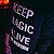 Camiseta KEEP MAGIC ALIVE (Manga Longa) - Imagem 5
