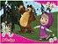 Quebra-Cabeça - Masha e o Urso - Estrela - Imagem 2