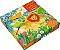 O Zoologico: Livro Com 3 Quebra-Cabecas - Usborne - Imagem 1