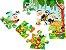 O Zoologico: Livro Com 3 Quebra-Cabecas - Usborne - Imagem 4