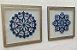 Quadros mandalas 2 peças medida 38 x 38 cm  - Imagem 1
