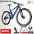 BICICLETA FOURSTROKE 01 ONE - COR  BLU ORA BLU - ANO 2019 - Imagem 2