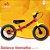 Bicicleta Balance Fast Vermelho e Amarelo - Imagem 1