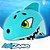 Capacete Infantil Tubarão Kidzamo - Imagem 1