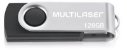 Pendrive 128GB Multilaser PD591 Preto - Imagem 2