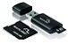Pen Drive 3 em 1 USB MicroSD Card c/ Adaptador SD 8GB Multil - Imagem 1