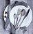 Jogo de Talheres Dubai Silver 24 Peças - Inox - Imagem 1