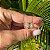 Brinco Prata Argola Média Com Três Fileiras Cravejadas Com Micro Zircônia Branca - Imagem 1