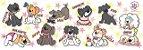 Caneca Personalizada As 10 Jóias da Lu - Rosa Estrela - Imagem 2