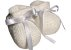 Sapatinho de bebê crochê de algodão - Imagem 1