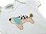 Body infantil bordado cachorro - Imagem 3