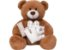 Pelúcia Urso Patch Love Bege  G  Buba Toys - Imagem 1