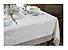 Toalha de Mesa Renda Guipure Nice Branca 2,20 x 2,20 cm Kacyumara - Imagem 1