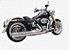"Escapamento Torbal Harley Davidson Deluxe 2012 a 2017 2"" 1/4 Long Corte Reto - Imagem 1"