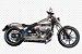 """Escapamento Torbal Harley Davidson Breackout 2014 a 2017 2""""1/4 Short Shot Lateral - Imagem 1"""