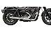 Escapamento 2x1 Torbal Harley Davidson Dyna Super Glide 2008/2011 Thunder Bolt  - Imagem 2