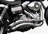 """Escapamento Torbal Harley Davidson Dyna Super Glide 12-14 2 """"1/4 Pol. Furia Lateral - Imagem 1"""