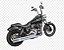 """Escapamento Torbal Harley Davidson Dyna Super Glide 2012-2014 2 """"1/4 Poleg. Long Reto C/ Capas - Imagem 3"""