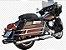 """Ponteira para Escapamento Torbal Oval Harley Davidson Electra Glide e Road King 04-16 4 """" 1/2 Polegadas - Imagem 1"""
