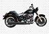 "Escapamento Torbal Harley Davidson Fat Boy 2006 A 2011 2 "" 1/4 PLG. Long. Corte Reto - Imagem 1"