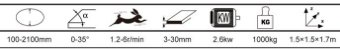 Biseladora Modeladora de vidros Chinesa Semi-automática China Glass  - Imagem 10