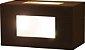 Arandela de Alumínio - 15x8x8cm - Imagem 1