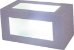 Arandela de Alumínio - 11x11x23cm - Branca - Imagem 1