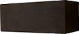 Arandela de Alumínio - 18x7x7cm - Preta - Imagem 1