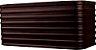 Arandela de Alumínio - 24x11x10cm - Preta - Imagem 1