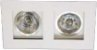 Spot de Embutir Recuado Branco Duplo Dicroica MR16 D&D EM-231 - Imagem 1