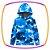 Conjunto infantil blusão e calça jogger em molecotton tie dye azul - Imagem 2