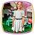 Conjunto infantil de blusa boxy em malha canelada na cor cinza e saia (com shorts embutido) em cirre holográfico na cor cinza - Imagem 2