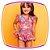 Maiô infantil estampa Preguiça com proteção UV - Imagem 1