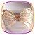 Tiara Laço Cetim bordada em Pérolas - Imagem 2