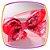 Tiara Laço estampa Flores  - Imagem 2