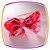 Tiara Laço estampa Flores  - Imagem 1