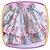 Vestido infantil Drapeado Floral com Laços - Imagem 3